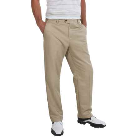 IZOD Micro-Sanded Golf Pants - UPF 50 (For Men) in Khaki - Closeouts