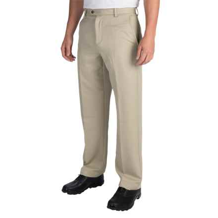 IZOD Micro-Sanded Golf Pants - UPF 50 (For Men) in Stonedust - Closeouts