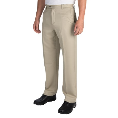 IZOD Micro Sanded Golf Pants UPF 50 For Men