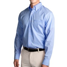 IZOD Mini Check Shirt - Long Sleeve (For Men) in American Dream - Closeouts