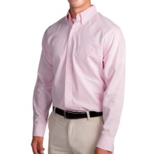 IZOD Mini Check Shirt - Long Sleeve (For Men) in Cradle Pink - Closeouts