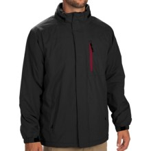 IZOD Mini Ripstop Jacket - Fleece Lined (For Men) in Black - Closeouts