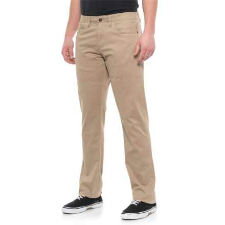 IZOD Newport Khaki Twill Sportflex Pants (For Men) in Newport Khaki - Closeouts