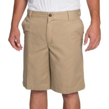 IZOD Saltwater Solid Shorts (For Men) in Cedarwood Khaki - Closeouts