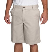 IZOD Saltwater Solid Shorts (For Men) in Stone - Closeouts
