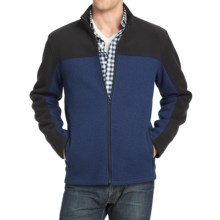 IZOD Shaker Fleece Jacket (For Men) in Estate Blue - Closeouts