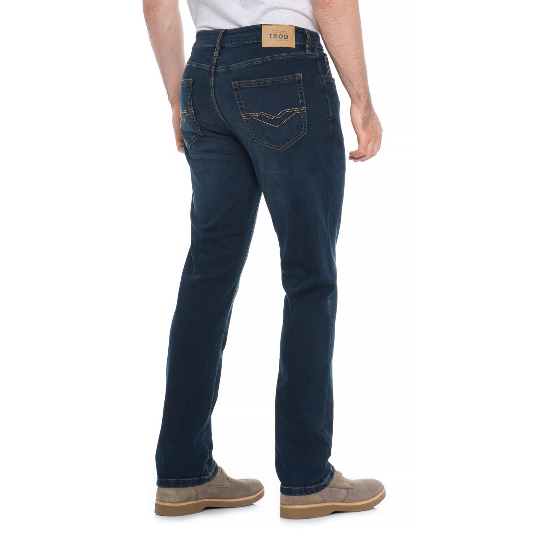 c540138324bb4 IZOD Slim Straight Jeans - Straight Leg (For Men)