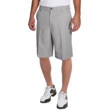 IZOD Solid Microfiber Golf Shorts - UPF 50+ (For Men) in Silver Nickel - Closeouts