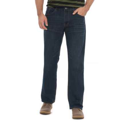 IZOD SportFlex Denim Jeans - Straight Leg (For Men) in Rivington - Closeouts