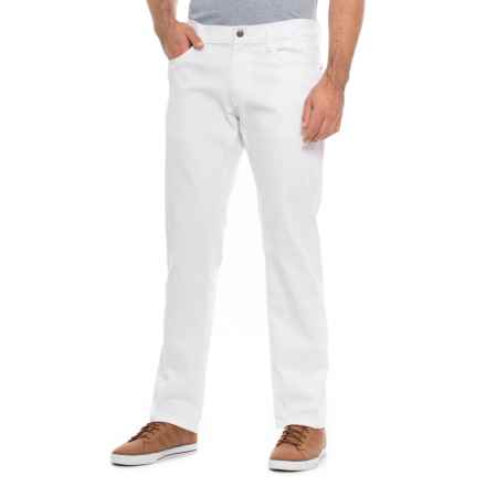IZOD SportFlex Denim Jeans - Straight Leg (For Men) in White - Closeouts