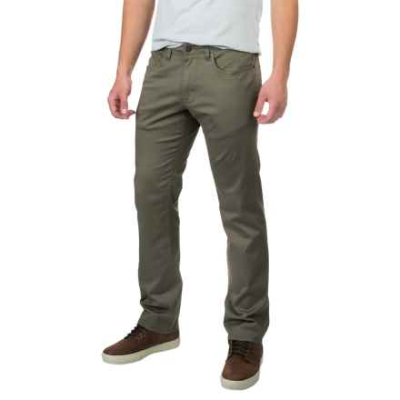 IZOD SportFlex Waistband Pants - 5-Pocket (For Men) in Thyme - Closeouts