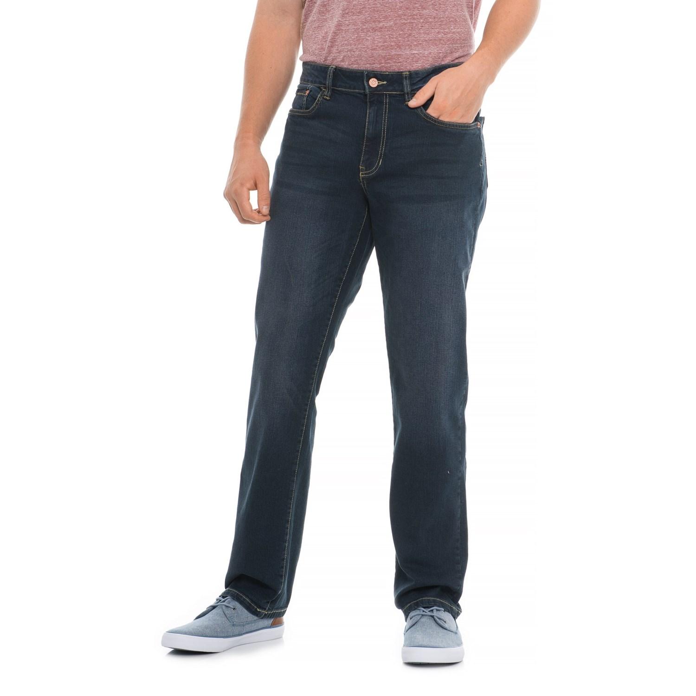 Izod Stretch Denim Straight Fit Jeans For Men Save 65