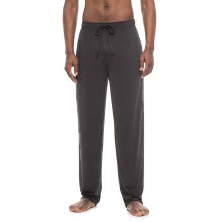 IZOD Sueded Jersey Lounge Pants (For Men) in Black - Closeouts