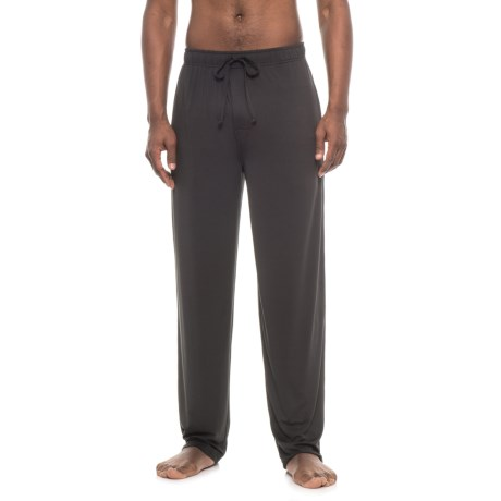 IZOD Sueded Jersey Lounge Pants (For Men) in Black