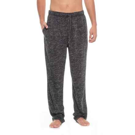 IZOD Tiger Heather Knit Lounge Pants (For Men) in Black - Closeouts