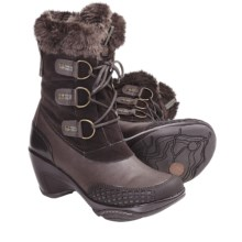 J-41 Eden Boots (For Women) in Brown - Closeouts