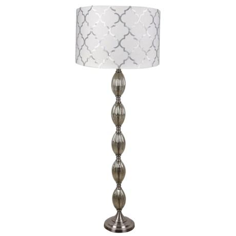 J Hunt Cloud Floor Lamp in White/Gold