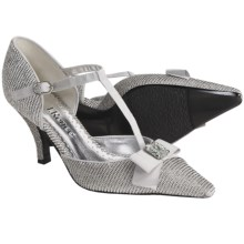 J. Renee Brandi T-Strap Pumps (For Women) in Silver - Closeouts