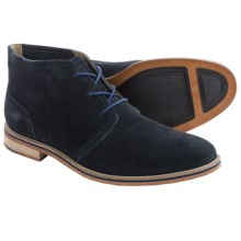 J Shoes Archie 2 Suede Chukka Boots (For Men) in Navy - Closeouts