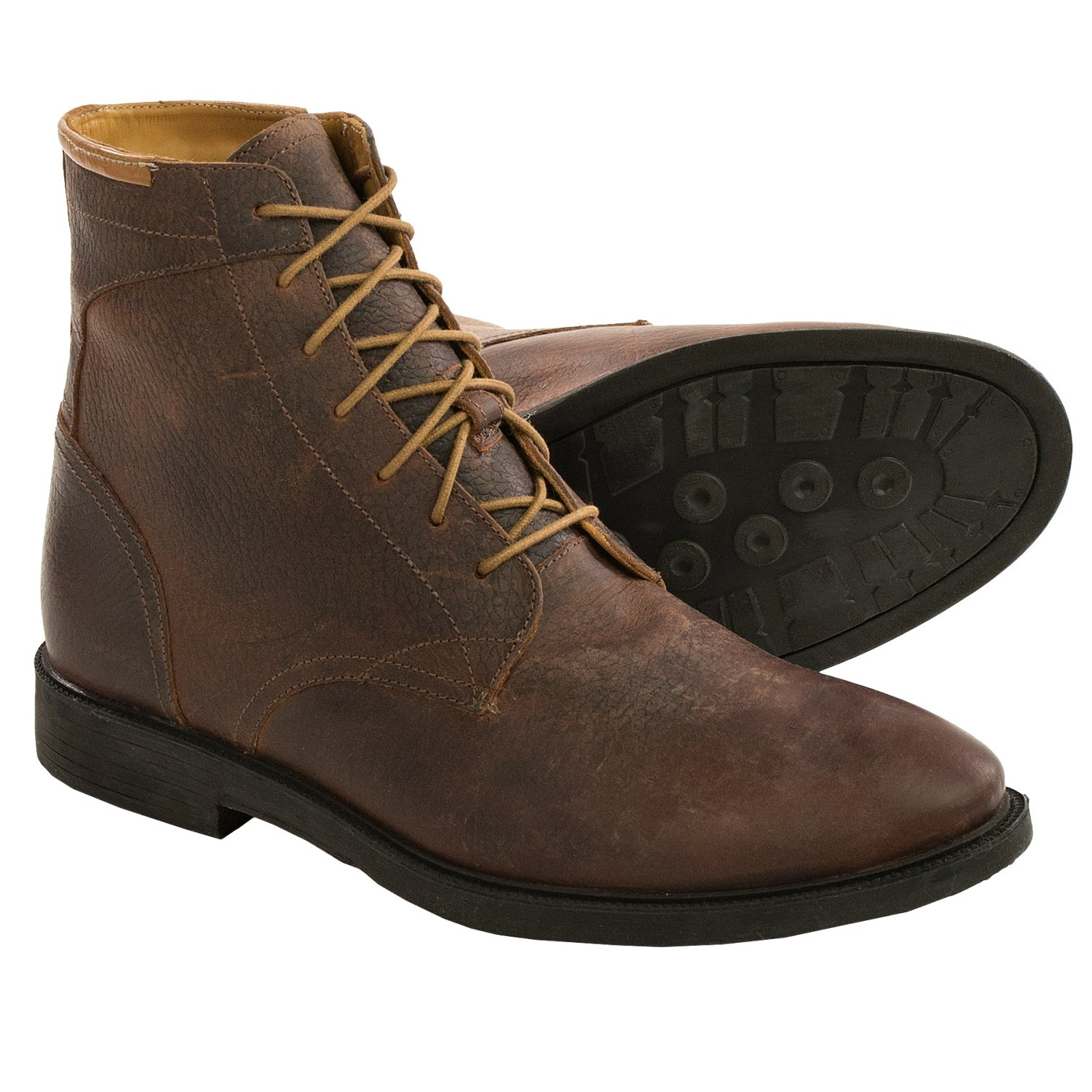 J Shoes Barbican Leather Boots (For Men) - Save 76%