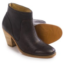 J Shoes Belgrave Ankle Boots - Leather (For Women) in Black - Closeouts