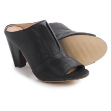 J Shoes Betsy Mule Shoes - Leather (For Women) in Black - Closeouts