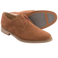 J Shoes Lore Suede Derby Shoes (For Men) in Mid Tan - Closeouts