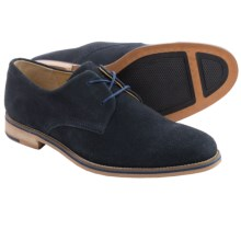 J Shoes Lore Suede Derby Shoes (For Men) in Navy - Closeouts