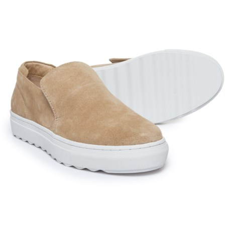 J Slides Perrie Sneakers - Suede, Slip-Ons (For Women)