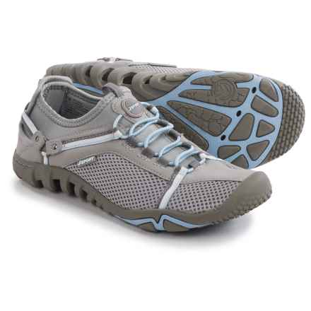 J Sport by Jambu Pegasus Sneakers (For Women) in Light Grey/Cool Blue - Closeouts