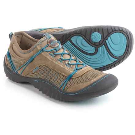 J Sport by Jambu Quest Sport Sneakers (For Women) in Saddle/Smoky Blue - Closeouts