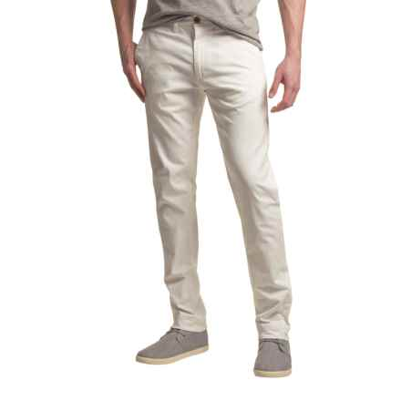 J.A.C.H.S. Bowie Pants - Stretch Cotton (For Men) in White - Closeouts