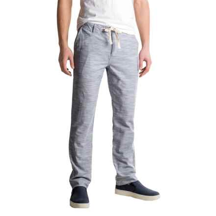 J.A.C.H.S. Chambray Drawstring Pants (For Men) in Indigo - Closeouts
