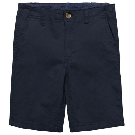 JACHS NY Chino Shorts (For Big Boys) in Navy