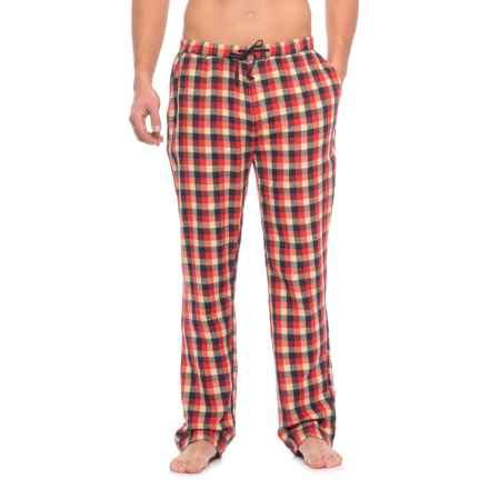 JACHS NY Flannel Lounge Pants (For Men) in Red - Closeouts
