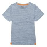 JACHS NY Marble Texture T-Shirt - Short Sleeve (For Little Boys)