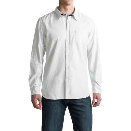 J.A.C.H.S. Oxford Shirt - Long Sleeve (For Men) in White - Closeouts