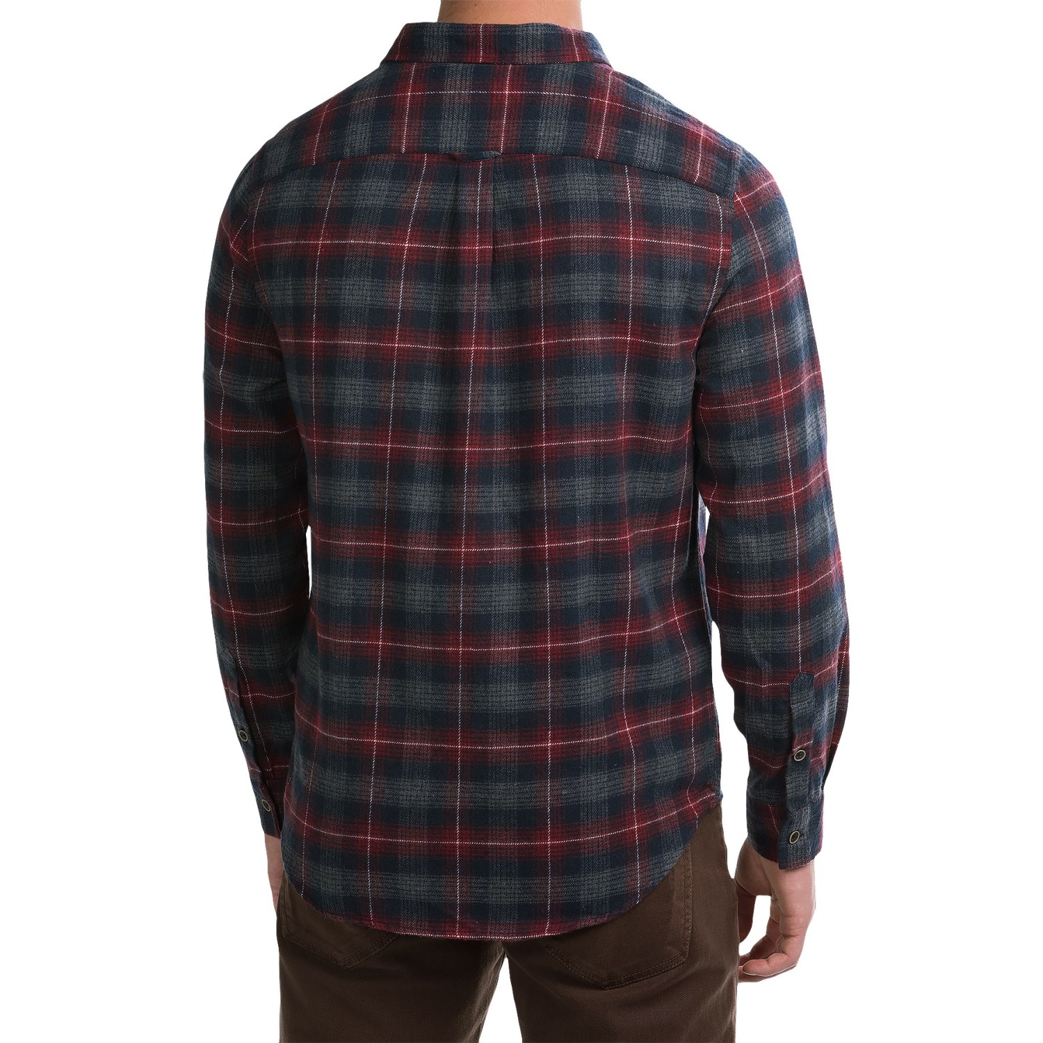 J a c h s plaid flannel shirt for men save 86 for Flannel checked long sleeve shirt