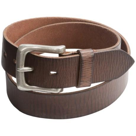 Jack Georges Buffalo Leather Belt - 1-1/2? (For Men)