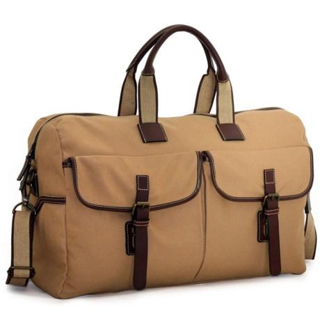 Jack Georges Canvas Barrel Duffel Bag - 22?