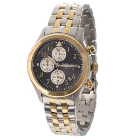 Jack Mason Aviator Chronograph Watch with Stainless Steel Band - 36mm in Grey/Grey - Closeouts