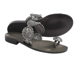 Jack Rogers Sante Fe Sandals (For Women) in Dark Brown