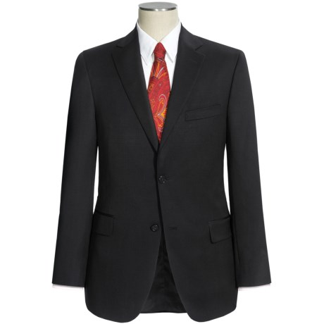 Jack Victor Classic Suit - Wool (For Men) in Black