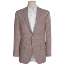 Jack Victor Conway Check Sport Coat - Worsted Wool, Modern Tailored Fit (For Men) in Red Check - Closeouts