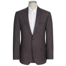 Jack Victor Conway Textured Basket-Weave Sport Coat - Wool-Silk (For Men) in Brown - Closeouts