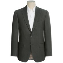 Jack Victor Conway Wool-Cotton Sport Coat - Diamond Weave (For Men) in Olive - Closeouts