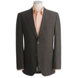 Jack Victor Fancy Sport Coat - Stretch Wool, Partially Lined (For Men) in Brown
