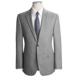 Jack Victor Fancy Trim Fit Suit - Wool (For Men) in Light Grey