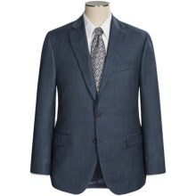 Jack Victor Gibson Windowpane Suit (For Men) in Steel Blue - Closeouts