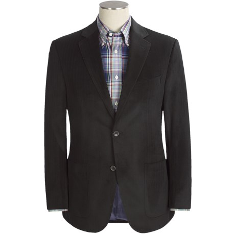 Jack Victor Herringbone Stripe Sport Coat - Velvet (For Men)